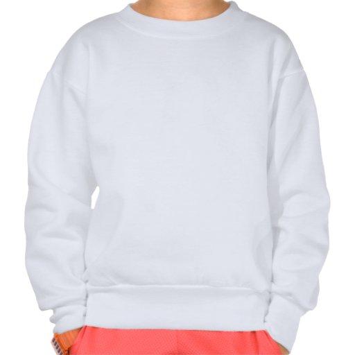 Vintage christmas in Paris Pullover Sweatshirt