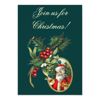Vintage Christmas Invitations