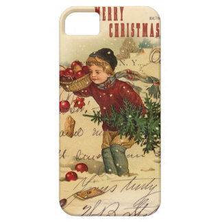 Vintage Christmas iphone 5 Cover