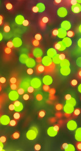 Vintage Christmas Lights Background Yellow Green Case Mate IPhone