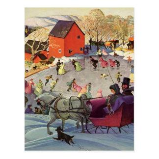 Vintage Christmas, Love and Romance Post Card