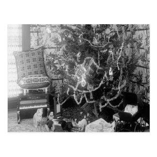 Vintage Christmas Memories Postcard