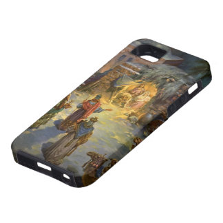 Vintage Christmas Nativity Case For iPhone 5/5S