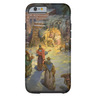 Vintage Christmas Nativity with Visiting Magi Tough iPhone 6 Case