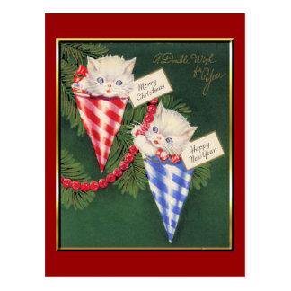 Vintage Christmas/New Year Postcard