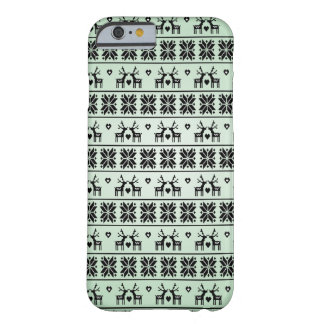 Vintage Christmas pattern Barely There iPhone 6 Case