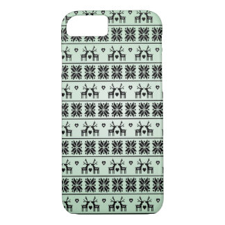 Vintage Christmas pattern iPhone 8/7 Case