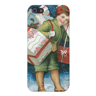 Vintage Christmas Presents Case For iPhone 5/5S