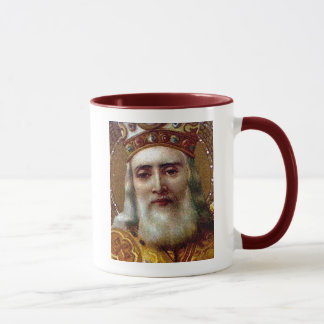 Vintage Christmas Saint Nicholas Mug