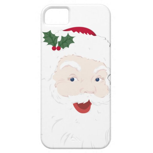 Vintage Christmas Santa iPhone 5 Covers