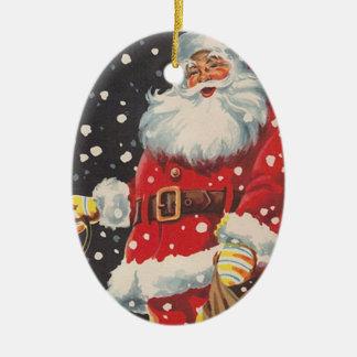Vintage Christmas Santa Claus Christmas Ornament