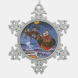 Vintage Christmas, Santa Claus Ornaments