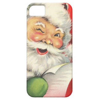 Vintage Christmas Santa Claus iPhone 5 Cover