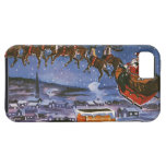 Vintage Christmas, Santa Claus iPhone 5 Covers
