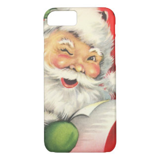 Vintage Christmas Santa Claus iPhone 8/7 Case