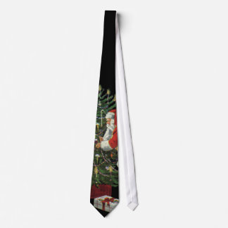 Vintage Christmas, Santa Claus with Presents Tie