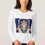Vintage Christmas, Scandinavian Saint Lucia Angels T Shirt