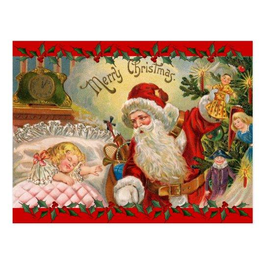 Vintage Christmas St. Nick Postcard
