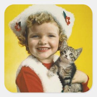 Vintage : Christmas - Sticker