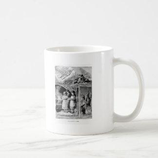 Vintage Christmas Story Victorian Scene Mugs