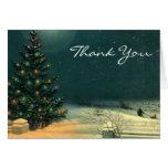 Vintage Christmas Thank You