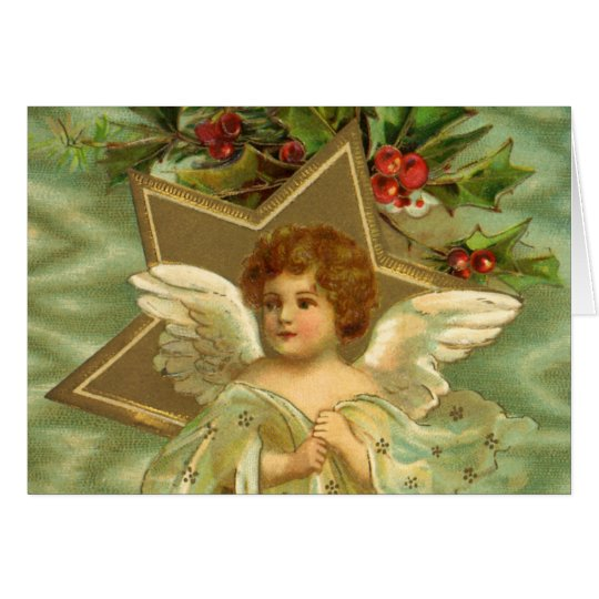 Vintage Christmas Thank You Card