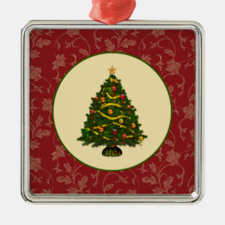 Vintage Christmas Tree Christmas Ornament
