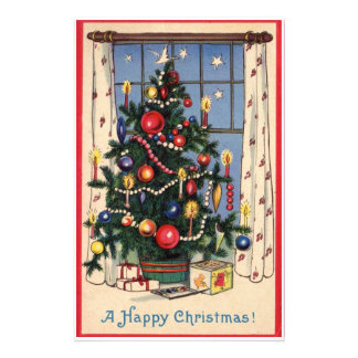 Vintage Christmas Tree Stationery