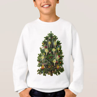 vintage christmas tree sweatshirt