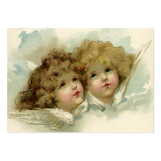 Vintage Christmas, Victorian Angels in the Clouds Pack Of Chubby Business Cards