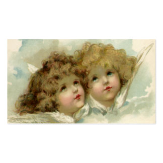 Vintage Christmas, Victorian Angels in the Clouds Pack Of Standard Business Cards