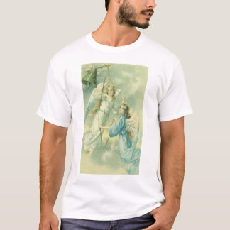 Vintage Christmas, Victorian Angels with a Bell T-Shirt
