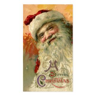 Vintage Christmas, Victorian Santa Claus Business Cards