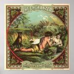 Vintage Cigar Ad: The Enchanter Poster
