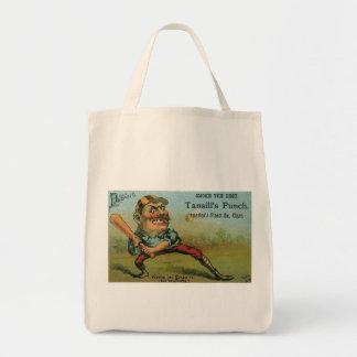 Vintage Cigar Label, Sports Baseball Tansill Punch Bags