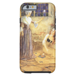 Vintage Cinderella and Fairy Godmother Fairy Tale Tough iPhone 6 Case