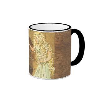 Vintage Cinderella and Fairy Godmother Coffee Mugs