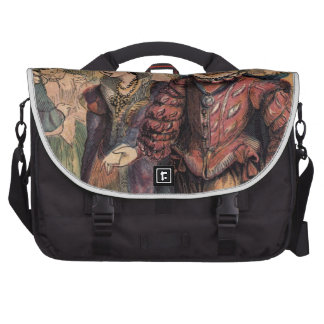 Vintage Cinderella and Prince at the Ball Laptop Commuter Bag