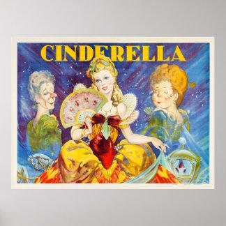 Vintage Cinderella Theater Poster