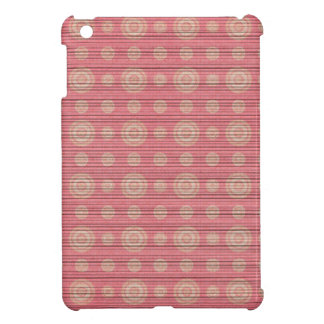vintage circle pattern cover for the iPad mini