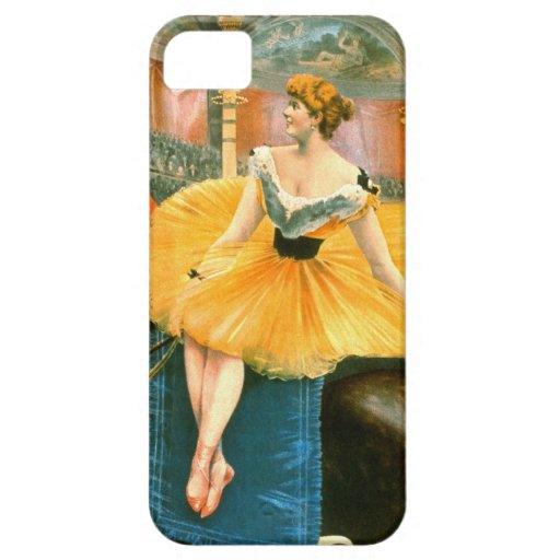 Vintage Circus Advertisement 1893 iPhone 5 Cover