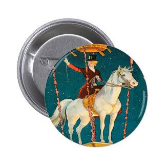 Vintage : circus Barnum & Bailey - 6 Cm Round Badge