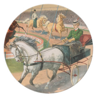 Vintage : circus Barnum & Bailey - Dinner Plate