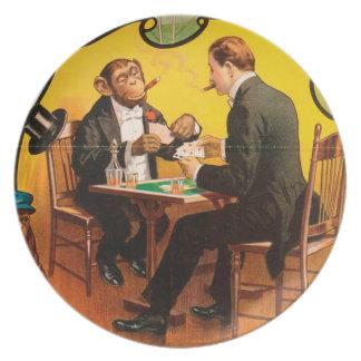 Vintage : circus Barnum & Bailey - Plates