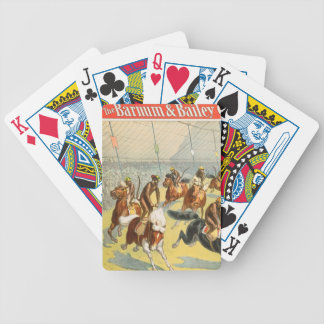 Vintage : circus Barnum & Bailey - Playing Cards