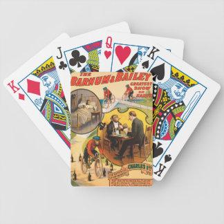 Vintage : circus Barnum & Bailey - Poker Cards