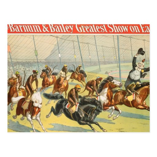 Vintage : circus Barnum & Bailey - Postcards