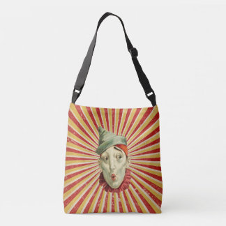 Vintage Circus  Clowns Crossbody Bag