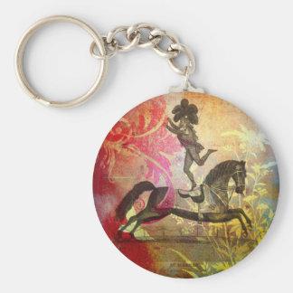 Vintage Circus Key Ring