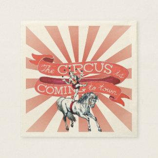 Vintage Circus Paper Napkin (50)